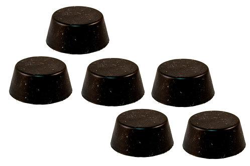 6 Pack Black Sun Pucks