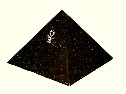 (Large) Black Universe Ankh Pyramid