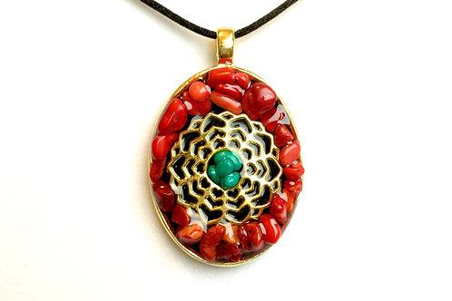 Flower of Life Meditation Pendant