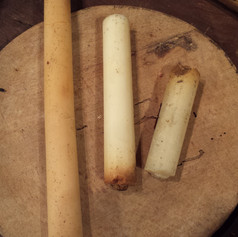 19th c. tallow candles