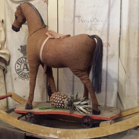 19th c. Rocking Horse