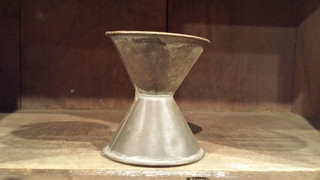 Interesting tin funnel