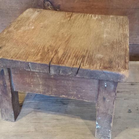 Little square stool