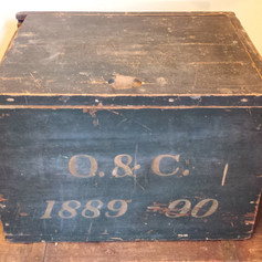 Document box dated 1889 - 90