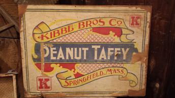 Peanut Taffy box lid