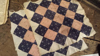 Two quilt squares