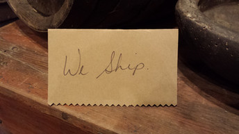 Yes! We Ship!