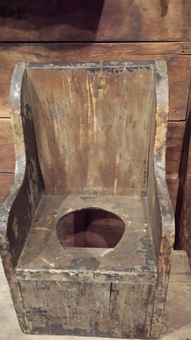 Early potty chair