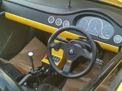 Sirius GT R gearshift and console