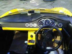 Sirius GT R Dashboard