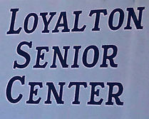 Photo of Loyalton Senior Center building sign