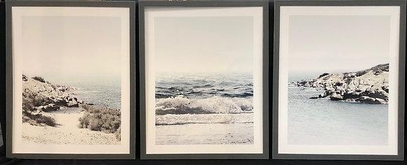 Ocean cliffs set of 3