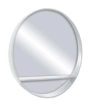 White Shelf Mirror