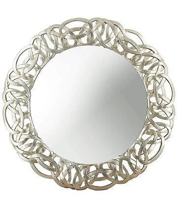 Silver Links Mirror