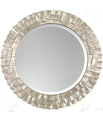 Silver Wave Mirror