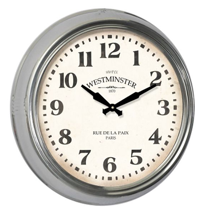 Westminster Silver Clock