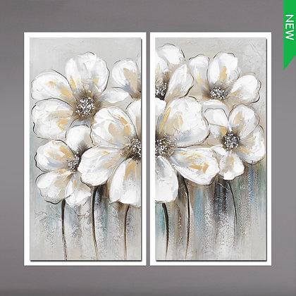 White Crystal Flower