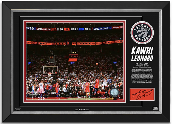 "Kawhi Leonard -""The Shot"""