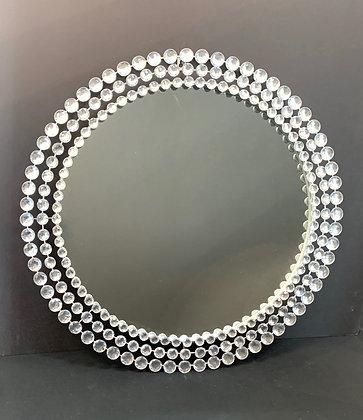 Round Bling Mirror