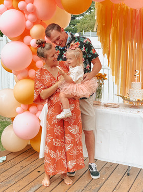 Oakley's 2nd Birthday: She's a Wildflower Themed Party