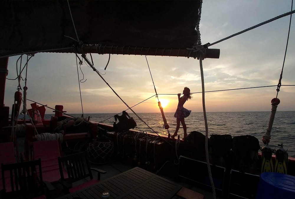 Best Thailand Dive Sitesunset