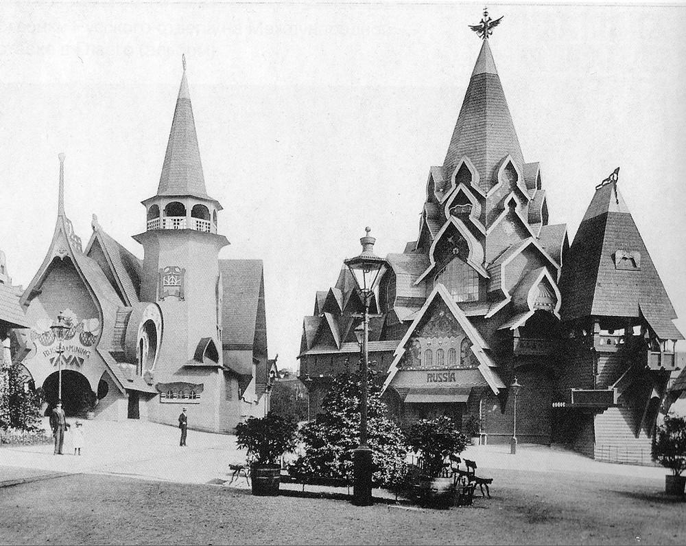 Russian Village by Fyodor Shekhtel 1901