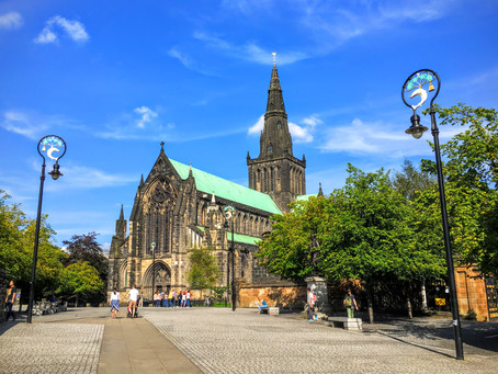 Three Gothic Buildings for sightseeing in Glasgow