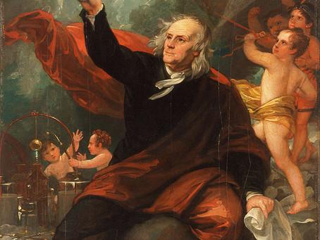 Benjamin Franklin and the Lightning Rod