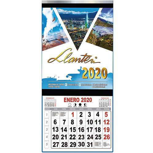 Calendarios 1/8 Couche T/Mensual y Fleje