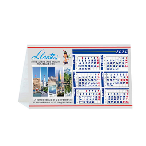 Calendarios Atril Sobremesa