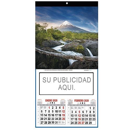 Calendarios 1/8 Couche T/Bimensual