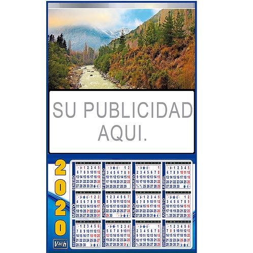 Calendarios 32X46CM T/Incorporado y Fleje