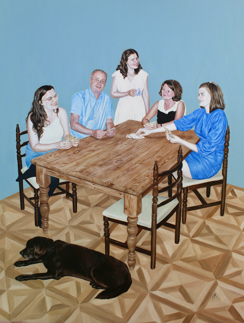 Group portrait commission