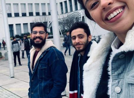 Comment Azza a réussi à directement intégrer l'université TU Munich en étudiant la langue en Tun