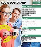 Dates cours d'allemand Sfax