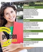 Dates cours d'allemand Sousse