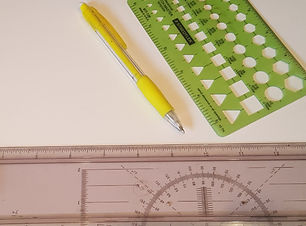 measurement tools to design a layout