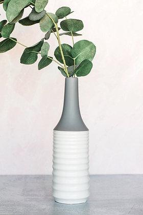 Modern Ridged Vase