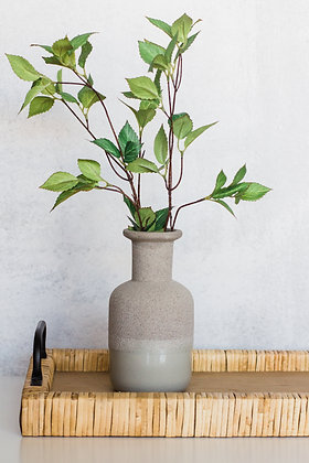 Two Toned Texture Vase