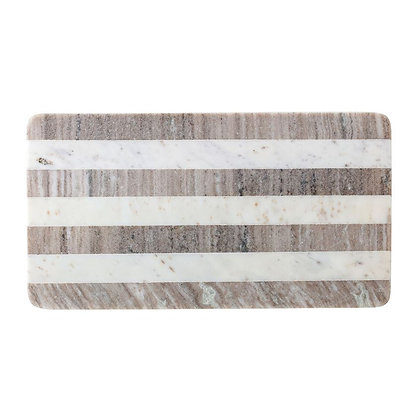 Buff & White Marble Board