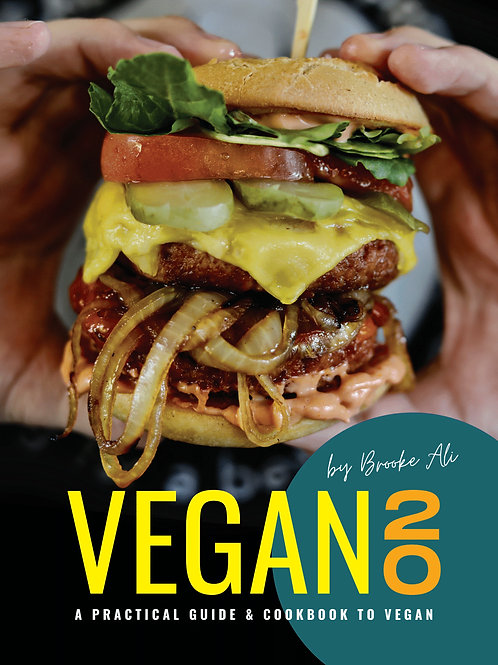 Vegan20: A practical guide & cookbook to vegan ebook