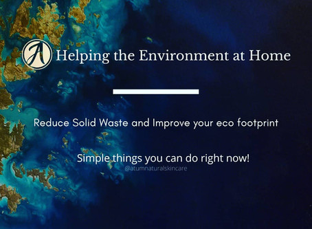 Helping The Environment at Home