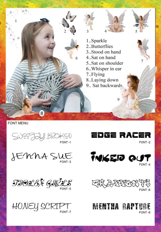 Fairies & Fonts