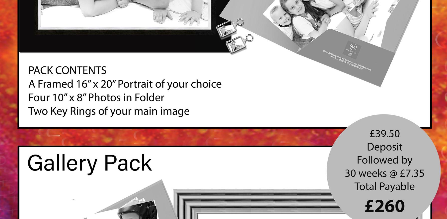 Family & Gallery Packs