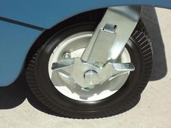 Four Flat-Free Heavy-Duty Tires