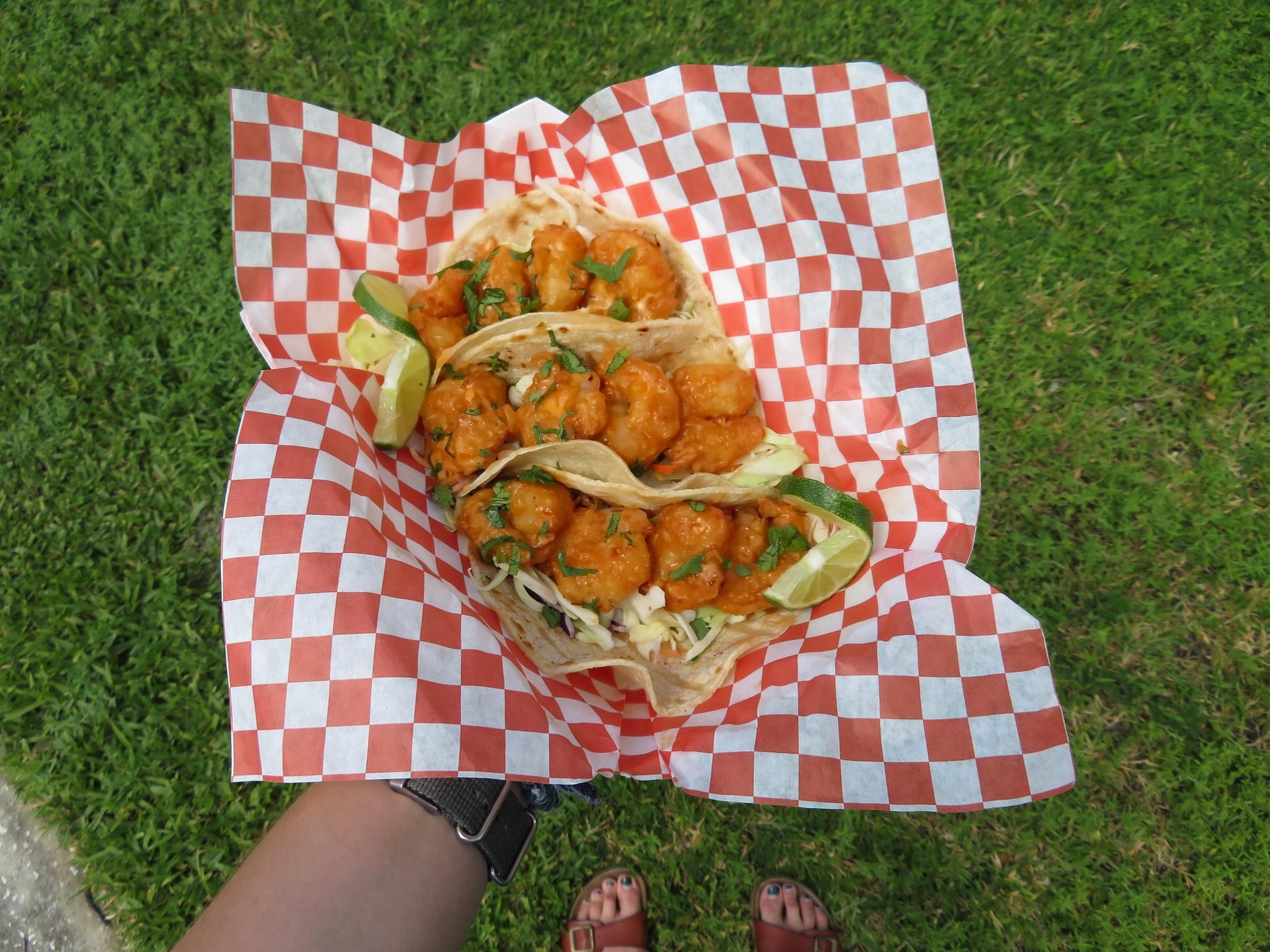 Bangin' Shrimp Tacos