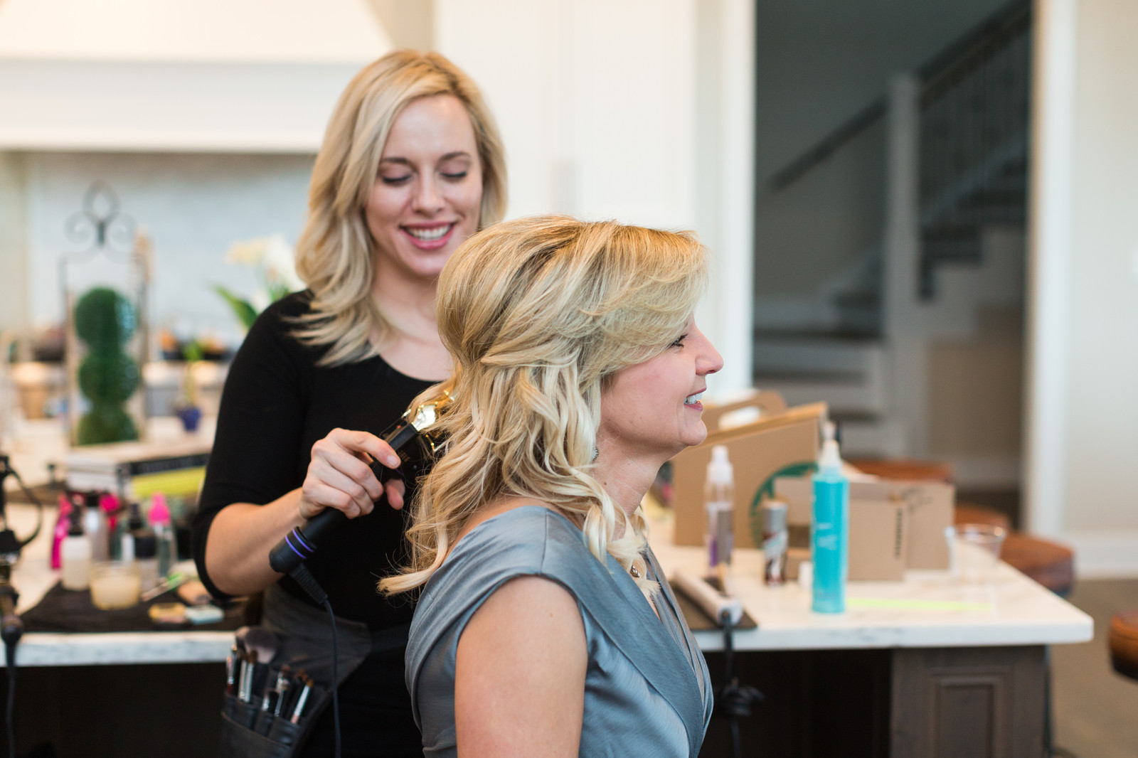 ... to the fun and excitement of a bride's big day by making sure she and her bridal party are glowing and gorgeous with flawless makeup and beautiful hair.