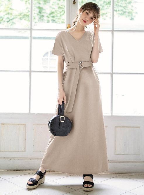GRL-長腰帶連衣裙[C029]
