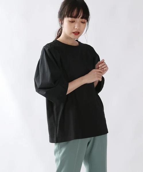 Lowrysfarm-粉撲袖休閒上衣[H010]