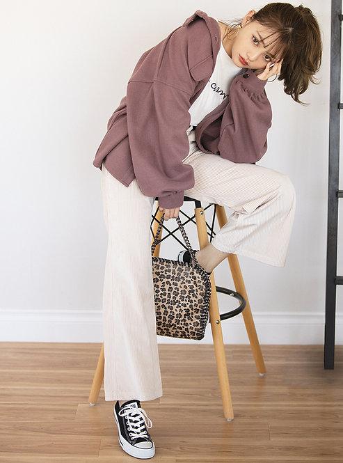 GRL-捲袖襯衫夾克[C060]